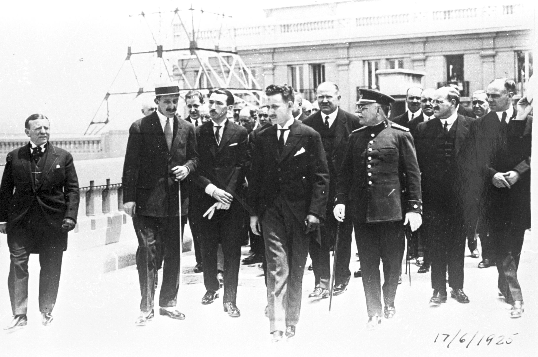 Alfonso XIII inaugura URM