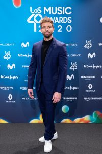 Pablo Alborán en LOS40MA 2020