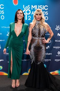 Lola Rodríguez y Daniela Santiago en LOS40MA 2020