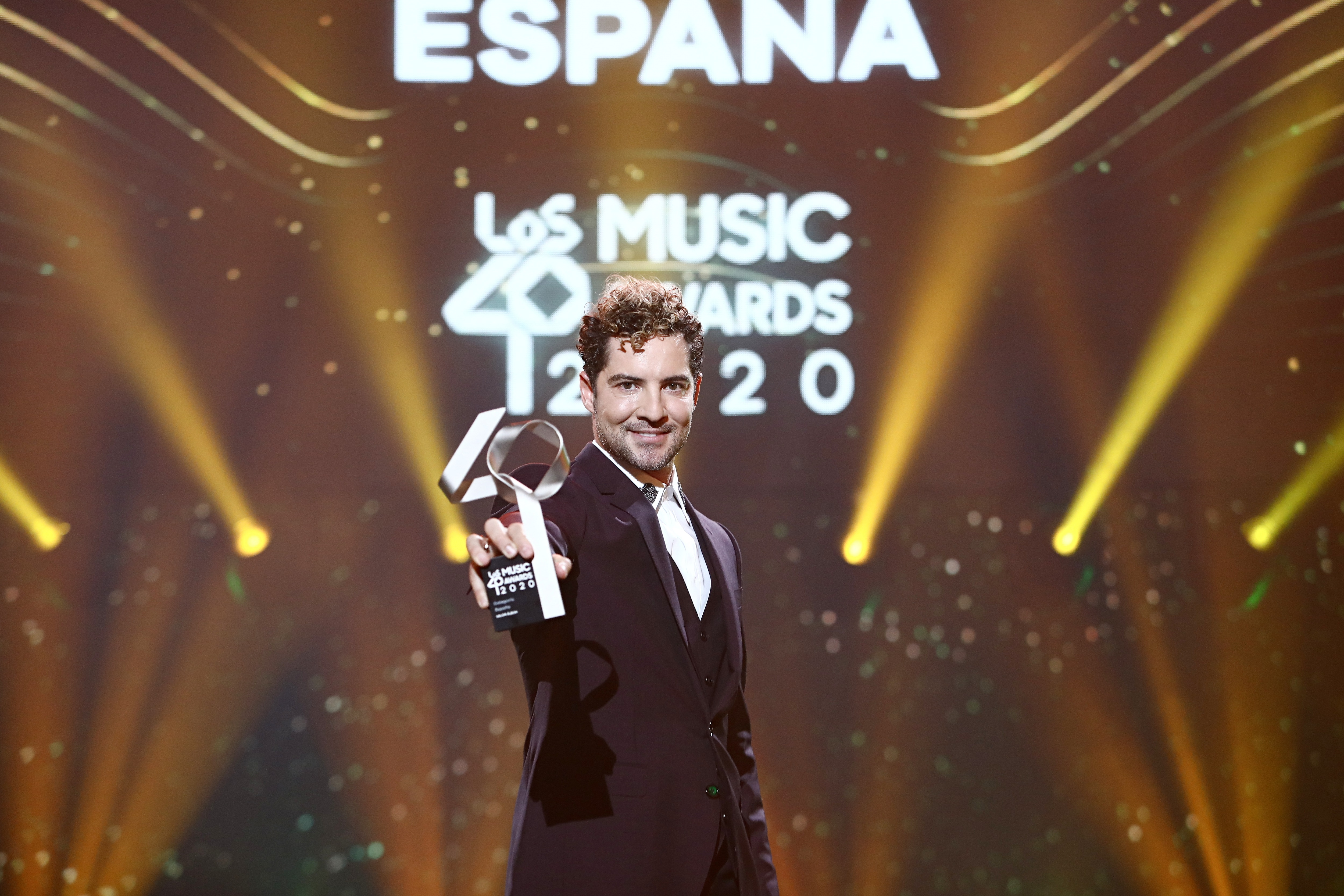 David Bisbal LOS40 Music Awards 2020