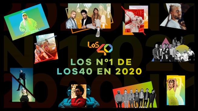 Los números 1 de LOS40 2020