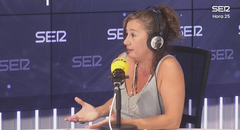 FRANCINA ARMENGOL EN HORA 25 DE LA CADENA SER